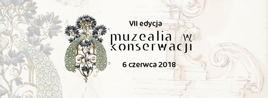 Muzealia w konserwacji 2018